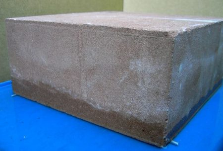 Capillary Absorption in Concrete Block