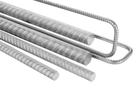 Different sized Stainless Steel bars