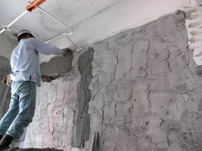 Plastering Concrete Surfaces Methods And Procedure