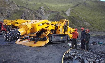 Tunnel Construction Machine