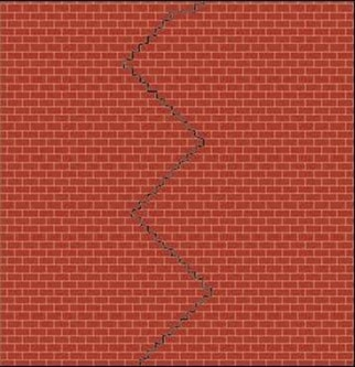 Expansion Cracks in Masonry Wall