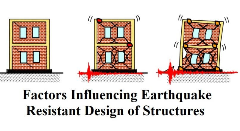 Factors Influencing Earthquake Resistant Design of Structures