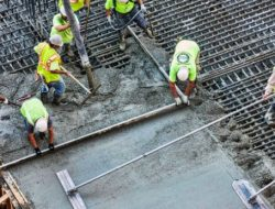 Reinforced Concrete Slab Casting- Work Procedure