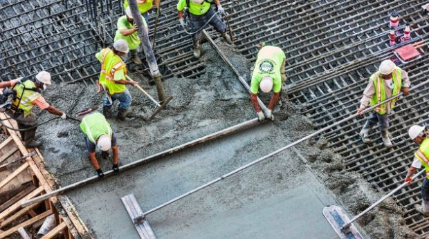 Reinforced Concrete Slab Casting Work Procedure