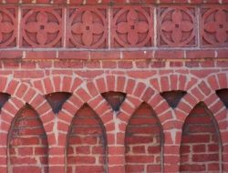 BRICK WORK IN SUPERSTRUCTURE