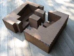 PRECAST CEMENT CONCRETE BLOCKS CONSTRUCTION