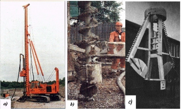 Methods of Installing Pile Foundations