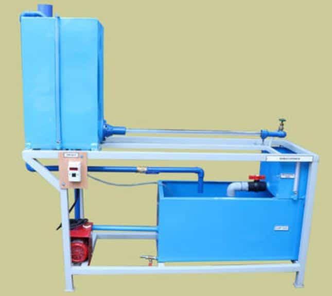 Reynolds Experiment Apparatus