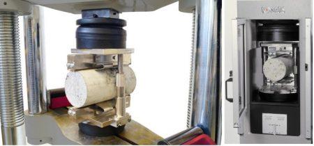 Split cylinder testing machine
