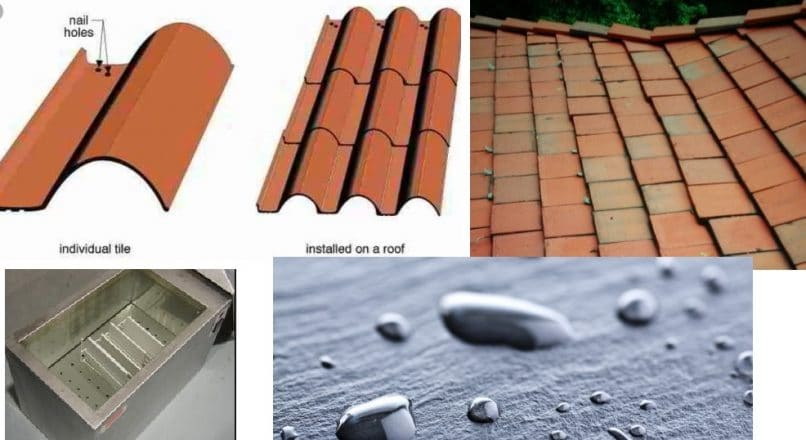 Water Absorption Test on Roofing Tiles