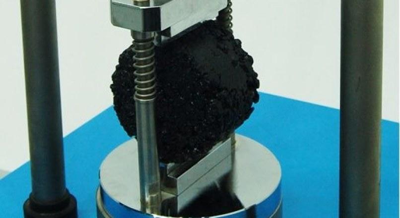Marshall Stability Test – Flow Test on Bitumen