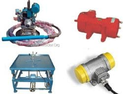 Types of Concrete Vibrators for Compaction