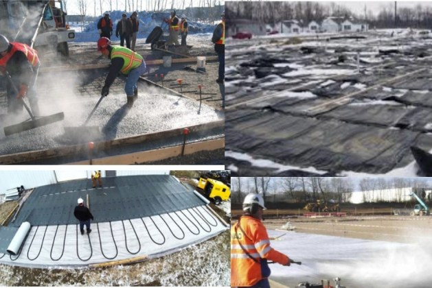 Cold Weather Concreting: Guidance, and Strategies