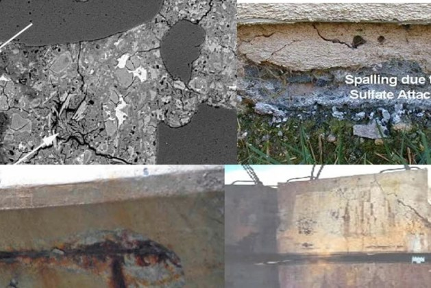 Types of Sulphate Attack in Concrete- Influences and Sources