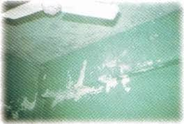 Leakage from roof slab