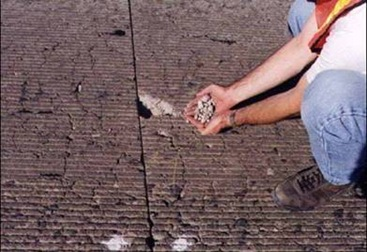 Distresses in Concrete Pavement