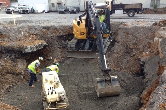 Excavation For Foundation Procedure, Setting Out, Safety Measures and Dewatering