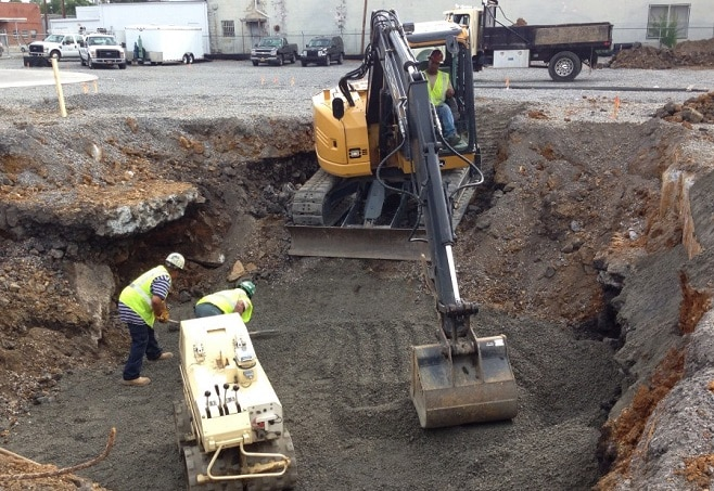 Excavation Procedure for Foundation