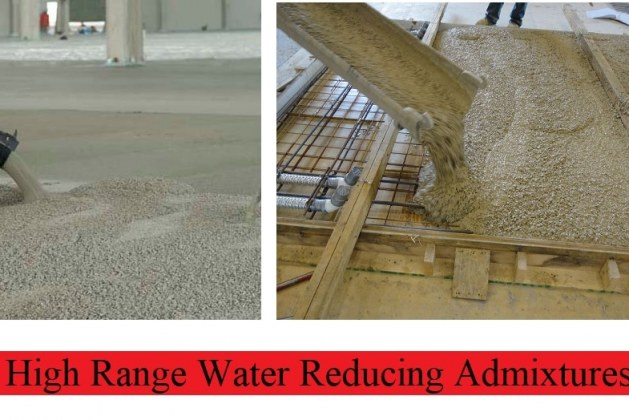 High Range Water Reducing Admixture for Concrete