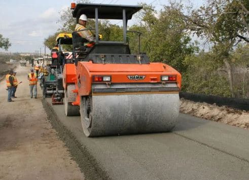 Roller Compacted Concrete for Road Construction