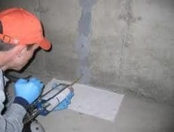 EPOXY INJECTION FOR CONCRETE CRACK REPAIR