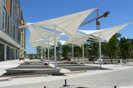 Tensile Structures Types Shapes And Advantages