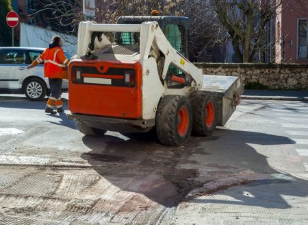 Rotomilling of concrete pavement