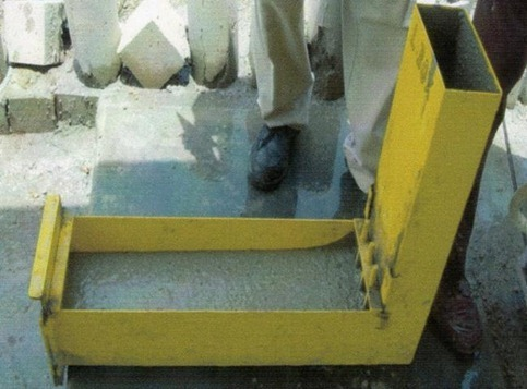 Self consolidating concrete testing equipment