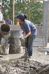 Procedure of Hand Mixing of Concrete