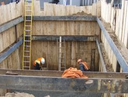Shoring and Underpinning in Building Construction