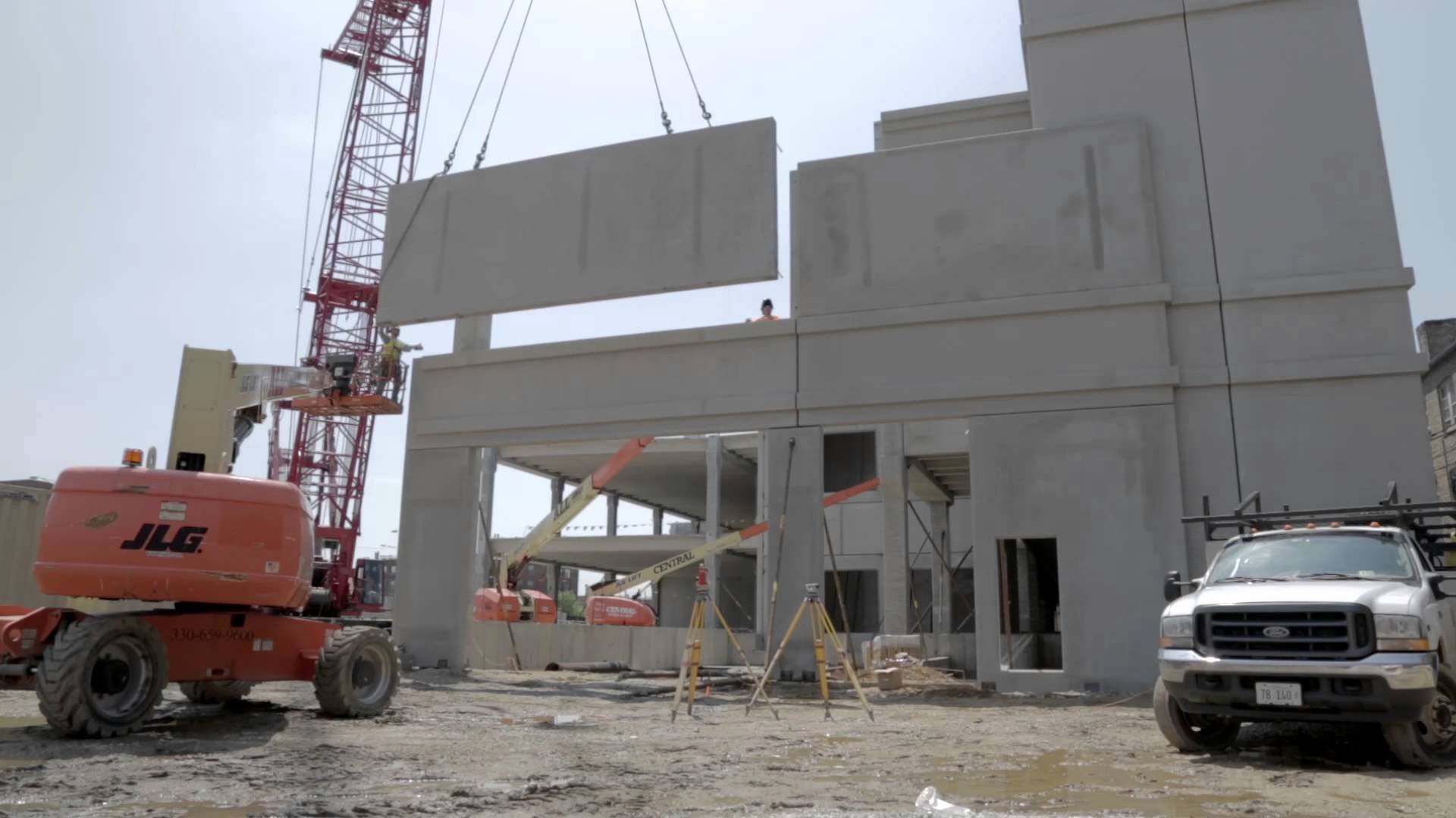 Cement House Construction : Precast concrete construction process and advantages