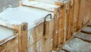 Timber formwork