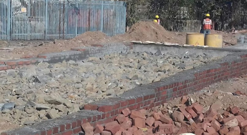 Rubble Soling Under Floors and Foundations
