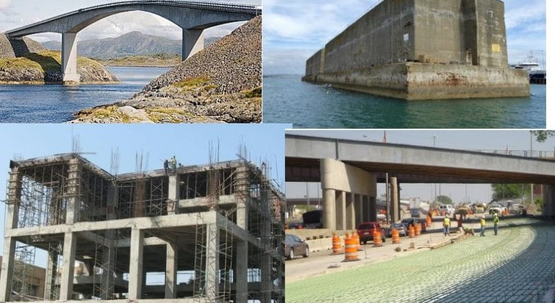 Applications of Reinforced Concrete