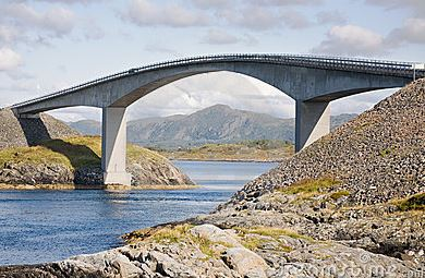 Bridge Built Using Reinforced Concrete