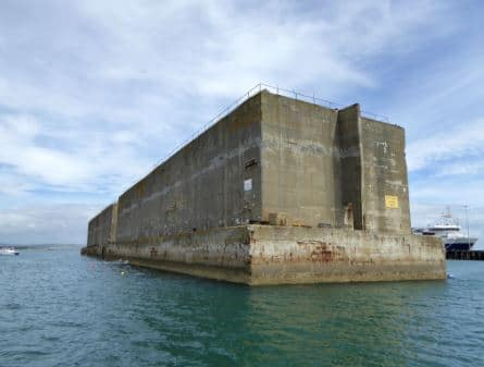 Mulberry Harbour Caissons ( Floating Structure) Constructed Using Reinforced Concrete