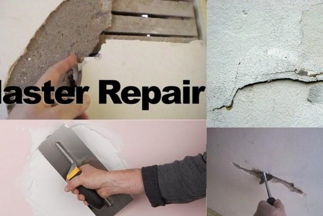 How to Repair Plaster Walls?