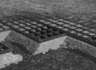 Porous pavement system