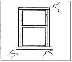 Concrete Cracks at Restraint Corners