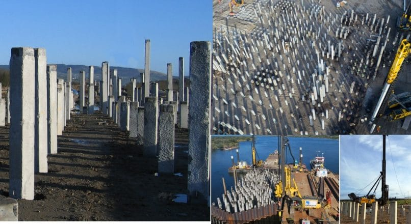 Driven Precast Concrete Pile – Construction, Applications, and Advantages
