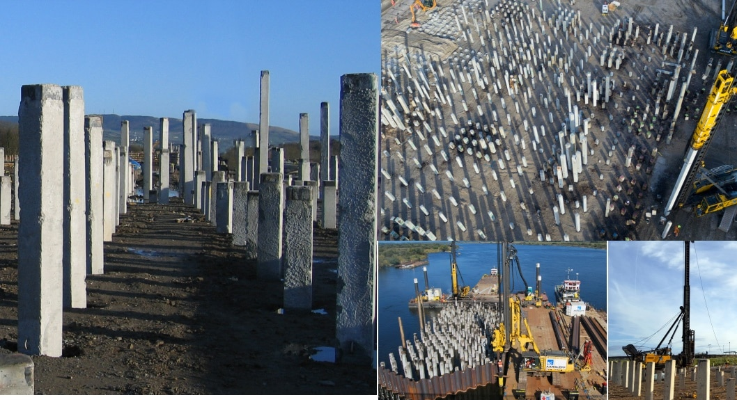 Driven Precast Concrete Pile - Construction, Applications, and