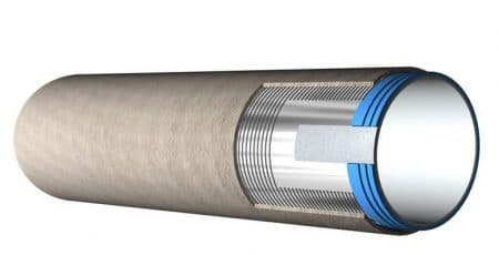 Prestressed Concrete Lined Cylinder Pipe