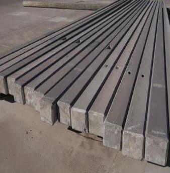 Prestressed Rectangular Poles