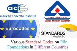 Various Standard Codes on Pile Foundations in Different Countries