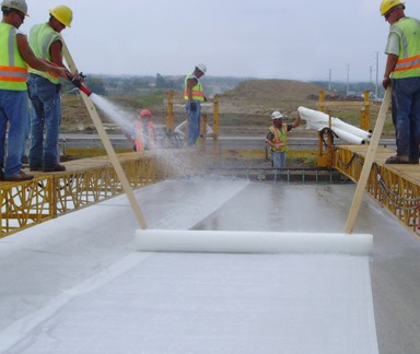 Water quality for concrete construction