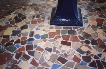 Curing Polishing And Finishing Of Mosaic Tiles