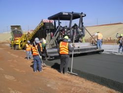MIX DESIGN OF ROLLER COMPACTED CONCRETE