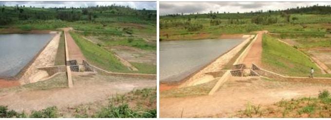 Earthfill dam