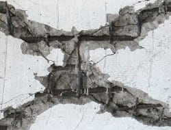 Evaluation of Cracks in Concrete to find Location and Extent of Cracking
