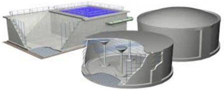 Reinforcement in water tanks